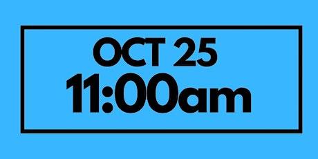 11:00AM Oct 25  - Next Gen Service tickets