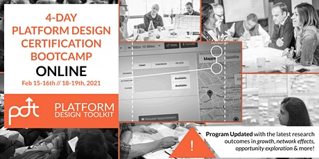The 4-Day Online Platform Design Certification Bootcamp tickets