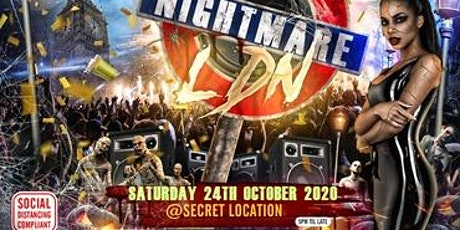 Nightmare LDN - The Biggest Halloween Party tickets
