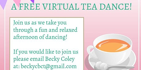 Virtual Tea Dance tickets