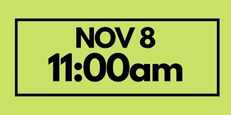 11:00AM Nov 8 - Services & Kids Registration tickets