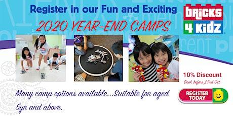 2020 Year-End School Holiday workshops - Bricks4kidz@The Grandstand tickets