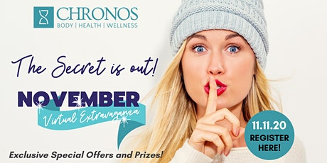 Chronos VIRTUAL November Extravaganza tickets