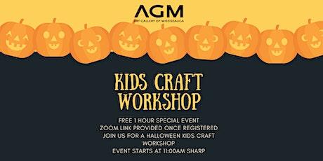Halloween Kids Crafting Workshop tickets
