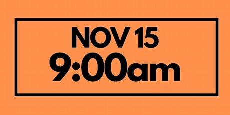 9:00AM Nov 15 - Services & Kids Registration tickets