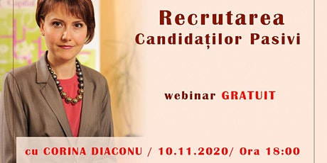 Recrutarea candidaților pasivi tickets