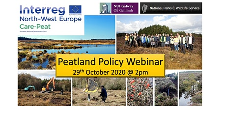 Care Peat Policy Webinar tickets