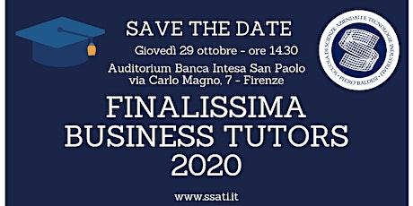 FINALISSIMA BUSINESS TUTORS 2020 biglietti