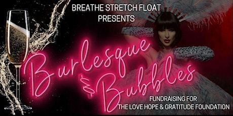 Burlesque & Bubbles tickets