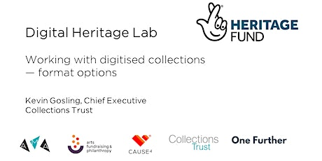 Working with digitised collections - format options tickets