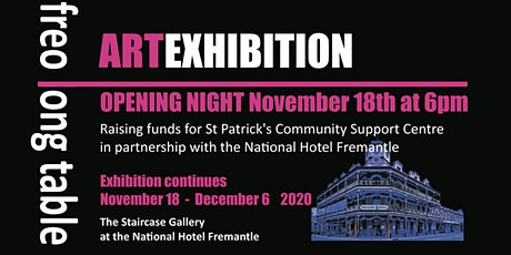FREO Long Table ART Exhibition tickets