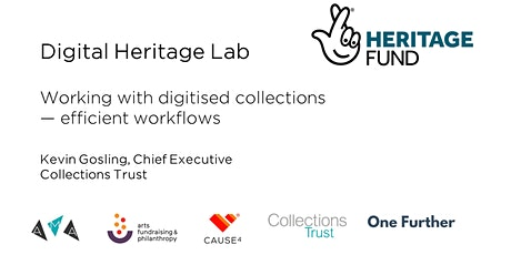 Working with digitised collections - efficient workflows tickets