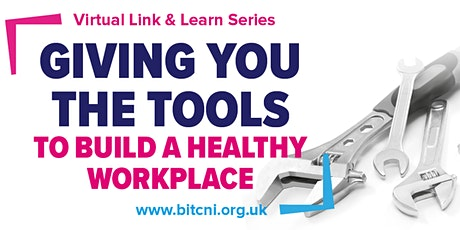 Link & Learn: Managing and monitoring stress though uncertain times tickets