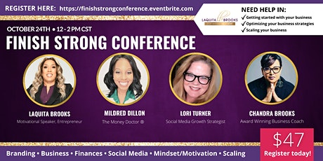 Finish Strong Conference tickets