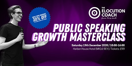 Public Speaking Growth Masterclass tickets
