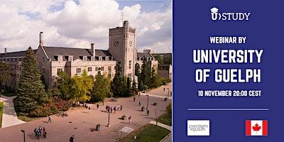 Free webinar –  University of Guelph
