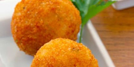 Holiday Inspired Arancini  (Rice Balls) from Scratch tickets