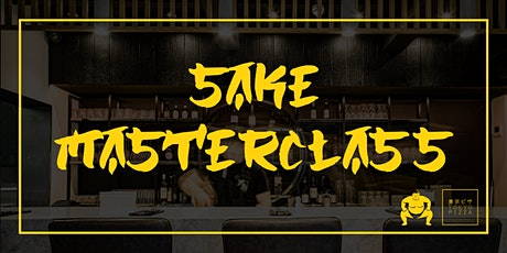 Sake Masterclass & Pizza tickets