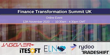 UK Finance Transformation Summit tickets