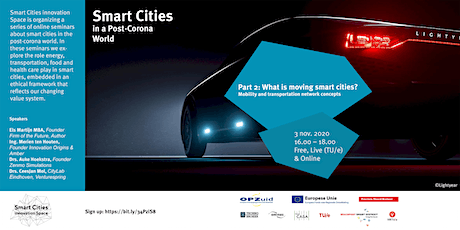 What's moving smart cities? Mobility and transportation network concepts. tickets