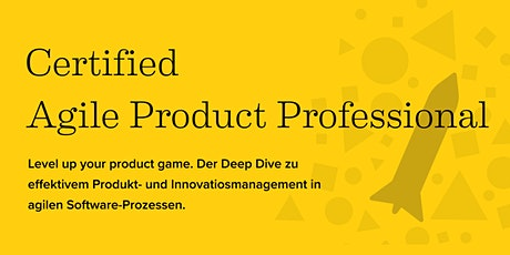 Online-Weiterbildung: Certified  Agile Product Professional Tickets