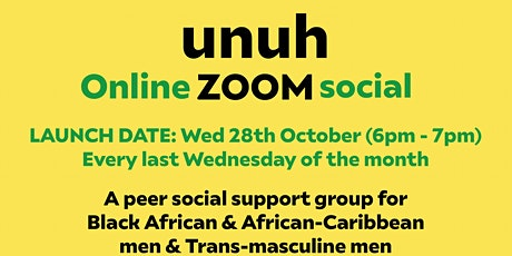 unuh - Zoom online group tickets