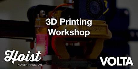 Hoist North Preston: 3D Printing Workshop tickets