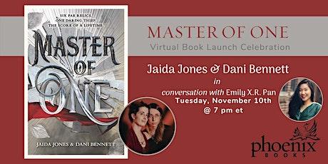 Master of One: Jaida Jones & Dani Bennett in Conversation w. Emily X.R. Pan tickets