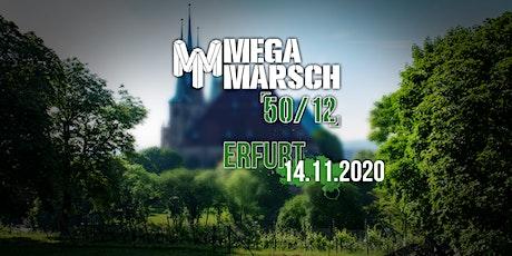 Megamarsch 50/12 Erfurt 2020 - **Ausverkauft**
