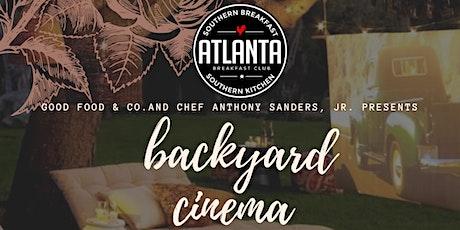 Backyard  Cinema tickets