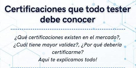 Certificaciones que todo tester debe conocer #4 entradas