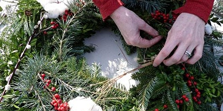 Christmas Wreath Making £32.50 tickets