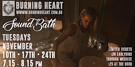 Sound Bath with Crystal Singing Bowls tickets