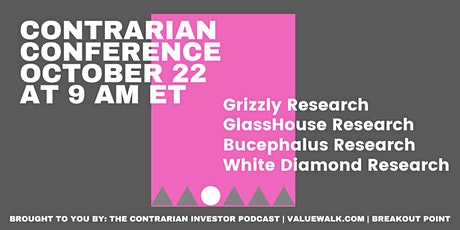 Contrarian Investor Virtual Conference No. 4: The Short of It tickets