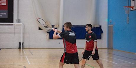 Social Membership BUCS Badminton tickets