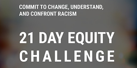 Community Conversation #2 on the 21 Day Equity Challenge tickets