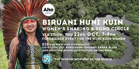 Biruani Huni Kuin Women's sharing & song circle via Zoom tickets