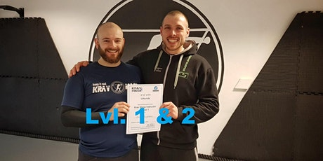 Leveltesting / Graduation Krav Maga Level 1+2 Tickets