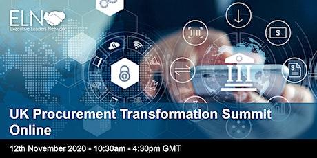 UK Procurement Transformation Summit tickets