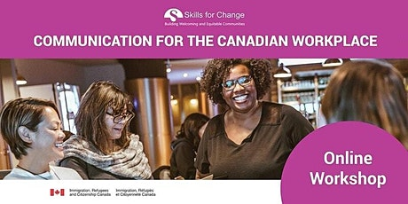 Communication for the Canadian Workplace Workshop- Information Session tickets