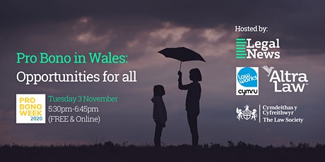 Pro Bono in Wales: Opportunities for all tickets