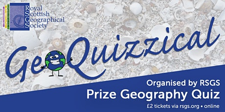 GeoQuizzical (RSGS November Quiz) tickets