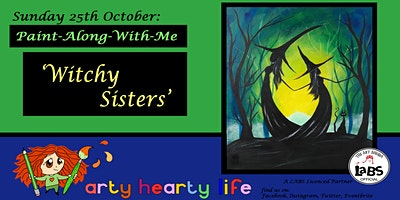 Witchy Sisters Paint-Along-With-Me @ YourSpace.S
