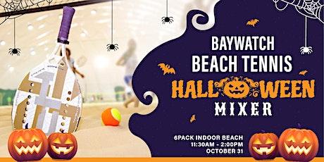 HALLOWEEN BEACH TENNIS MIXER (INDOOR) tickets
