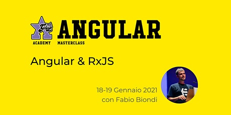 Angular & RxJS con Fabio Biondi [GrUSP Academy - Angular Masterclass] biglietti