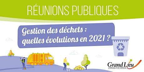 Réunion publique - Gestion des déchets / 23 novembre Le Bignon billets
