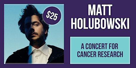 Matt Holubowski Acoustic Charity Concert tickets