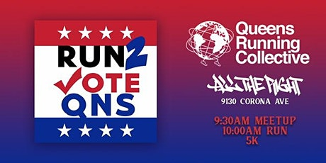 Run 2 Vote Queens tickets