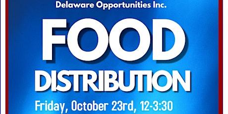 October Food Distribution tickets