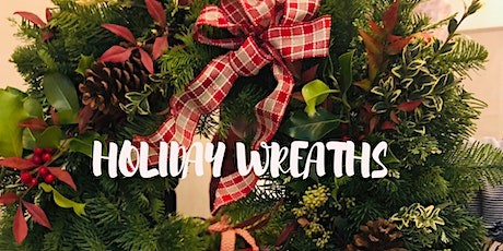 Holiday Wreaths @Rustic Cork tickets